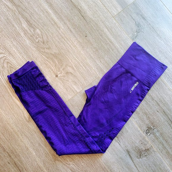 Gymshark Indigo Energy Seamless leggings small